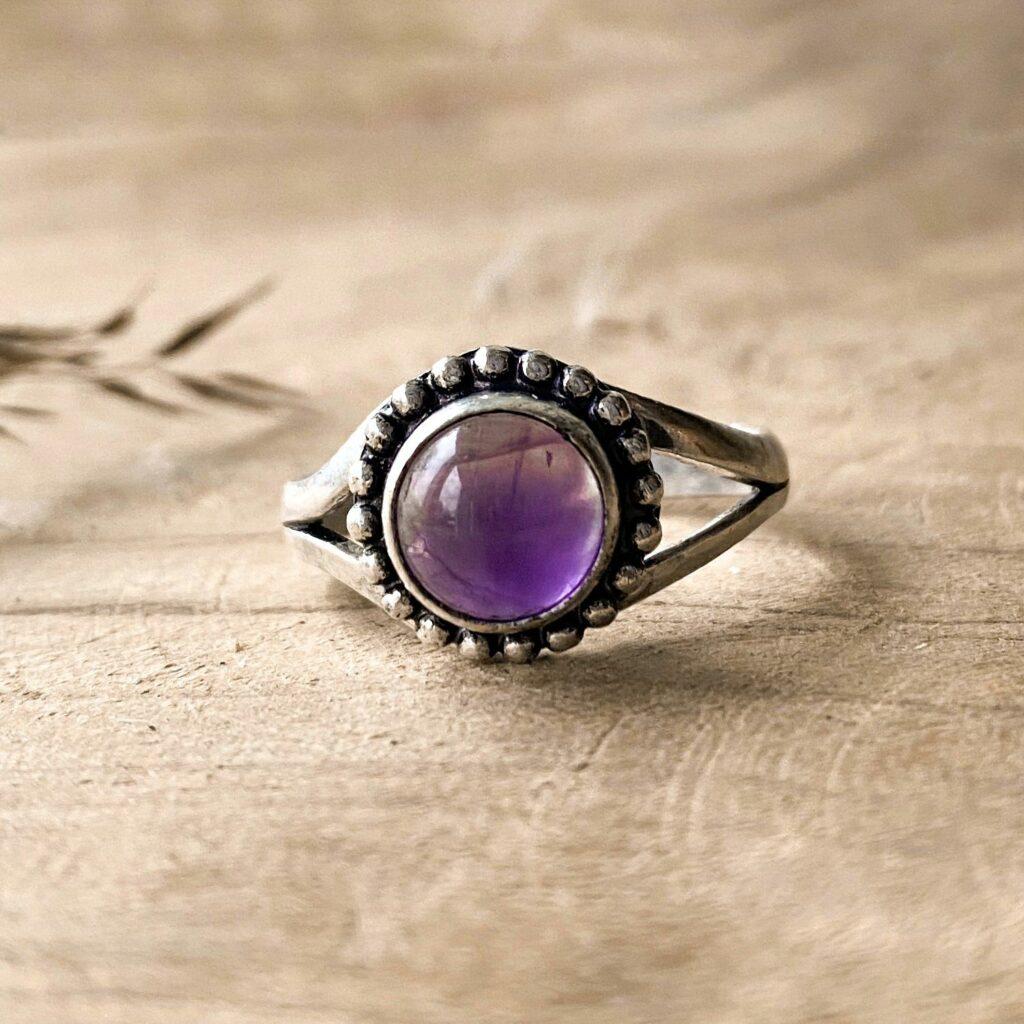 Amethist ring (S)
